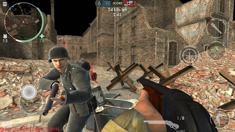 لعبة ورلد وار هيروز World War Heroes WW2 Shooter للاندرويد برابط مباشر