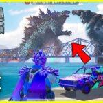 تحميل ببجي موبايل تحديث الديناصور جودزيلا Godzilla vs Kong